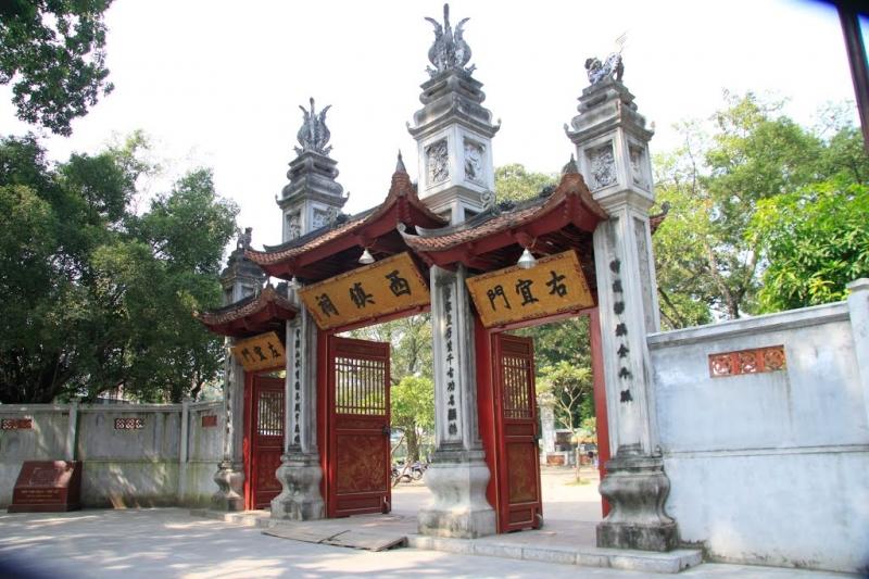 Đền Voi Phục - Trấn Tây Hoàng thành Thăng Long