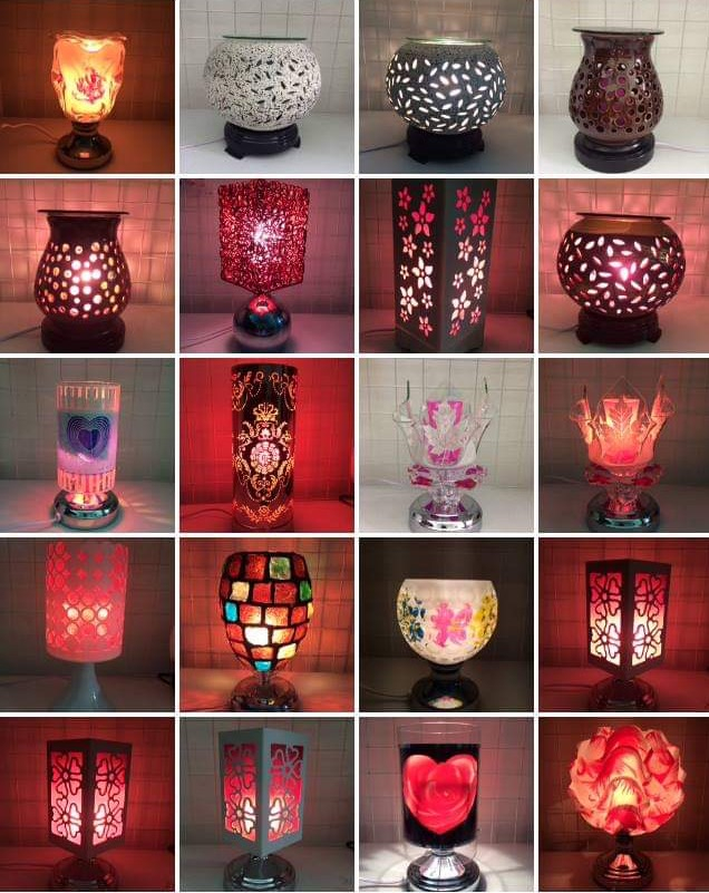Các loại đèn xông tinh dầu Khánh Linh