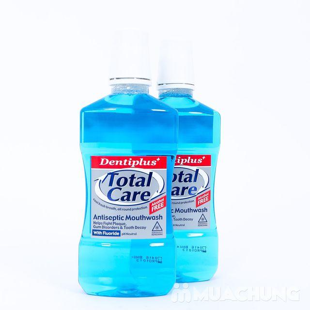 Nước súc miệng chăm sóc diệt khuẩn toàn diện - Dentipus Total Care