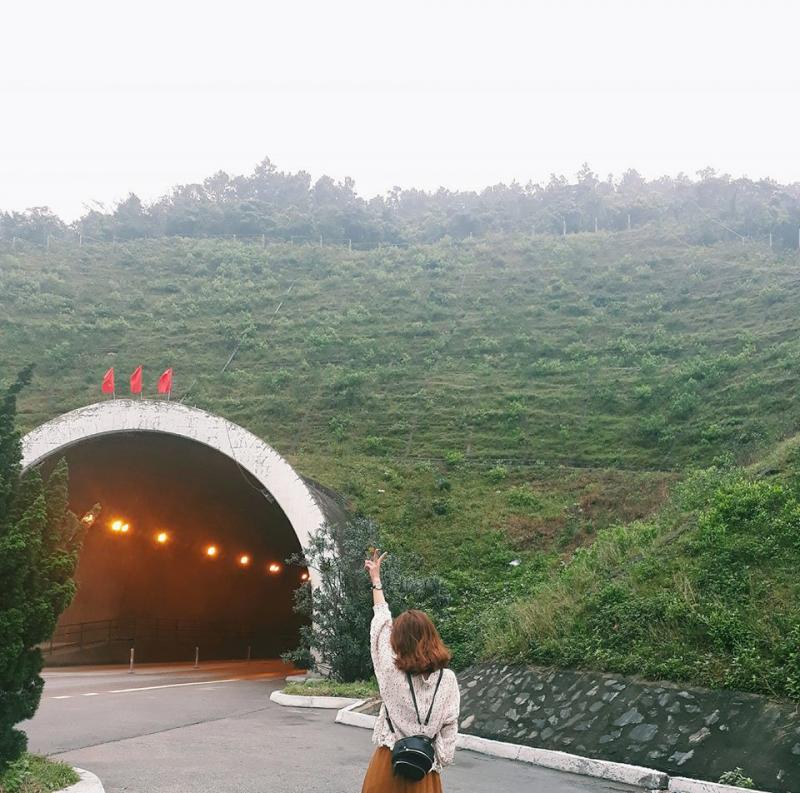 Hầm đường bộ Đèo Ngang cũng là một địa điểm check in lãng mạn