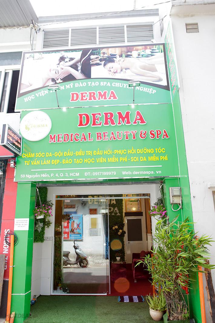 Derma Spa điều trị da mụn đã lâu và có nhiều tiếng lành nhất định trong giới làm đẹp