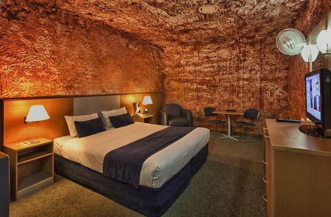 Desert Cave Hotel được xem là một khách sạn hạng sang