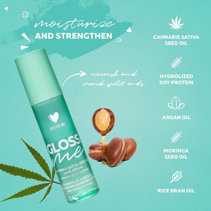 Design.Me Gloss.Me Cannabis Sativa Seed Oil Hair Serum