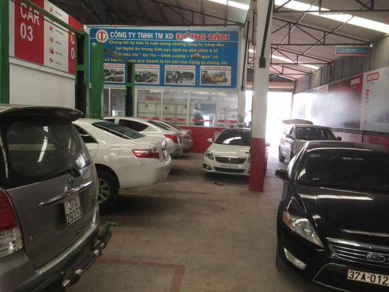 Garage ô tô Đồng Tâm