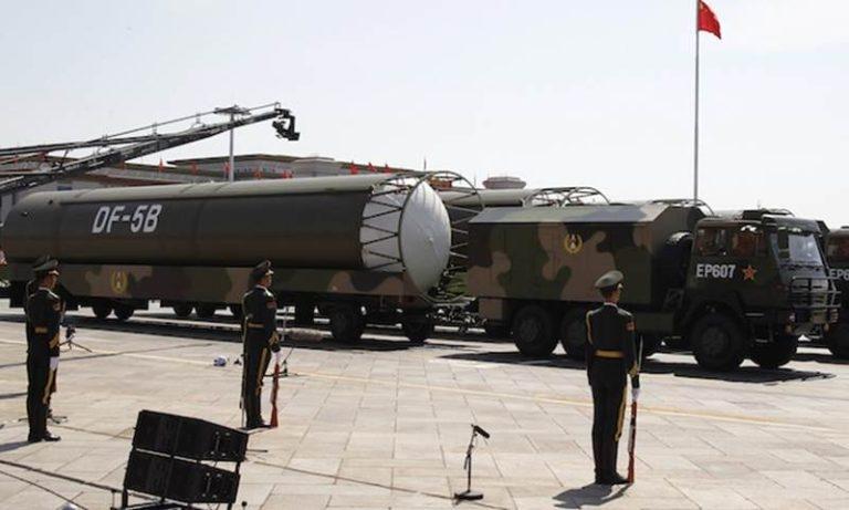 Tên lửa DF-5 - Dongfeng của Trung Quốc.