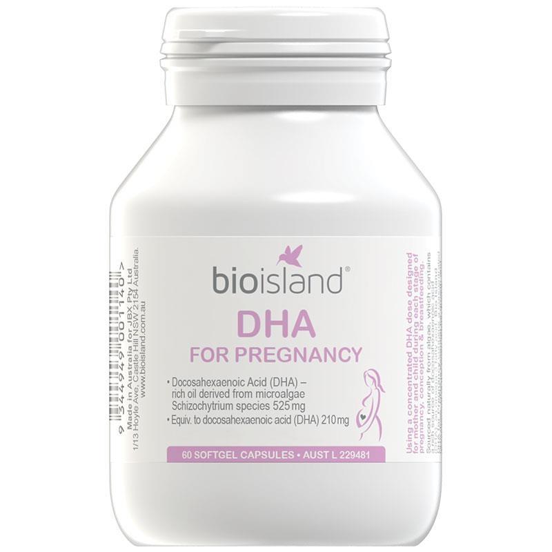 Ưu điểm của DHA Bio Island là hàm lượng DHA phong phú.
