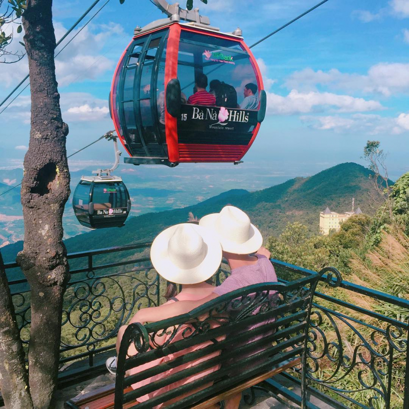 Take the cable car and enjoy the view