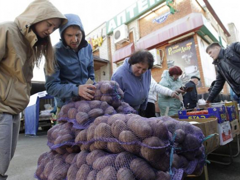Chợ rau quả cuối tuần ở Ai Cập (Nguồn: Sưu tầm)