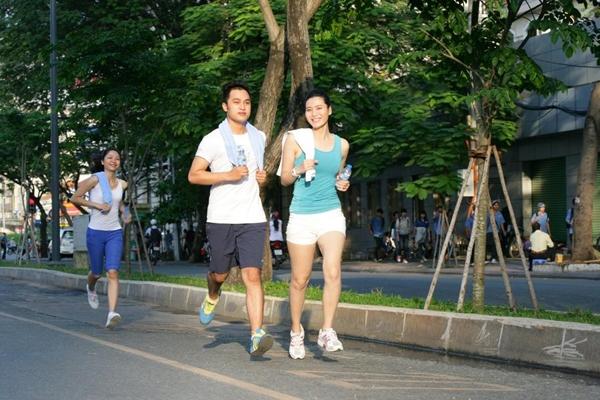 Chạy bộ giúp bạn thoải mái hơn