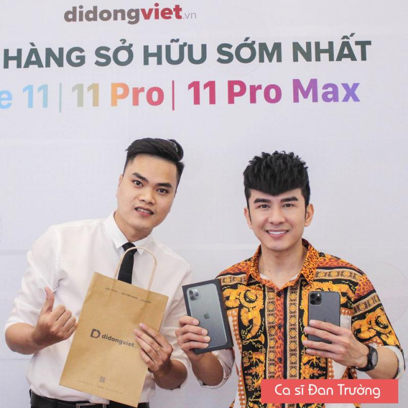 Di Động Việt là nơi bán điện thoại uy tín chất lượng được nhiều nghệ sĩ tin tưởng.