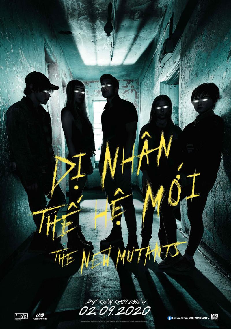 New Mutants - Dị Nhân Thế Hệ Mới