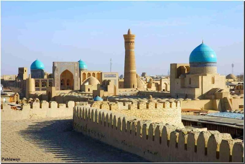 Di tích lịch sử Bukhara là một trong những di sản ấn tượng nhất của UNESCO tại Châu Á
