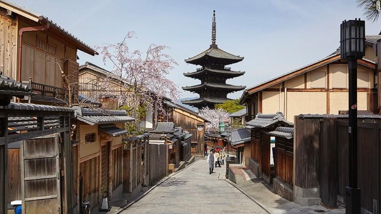 Cố đô Kyoto được đánh giá là một trong những di sản ấn tượng nhất của UNESCO tại Châu Á