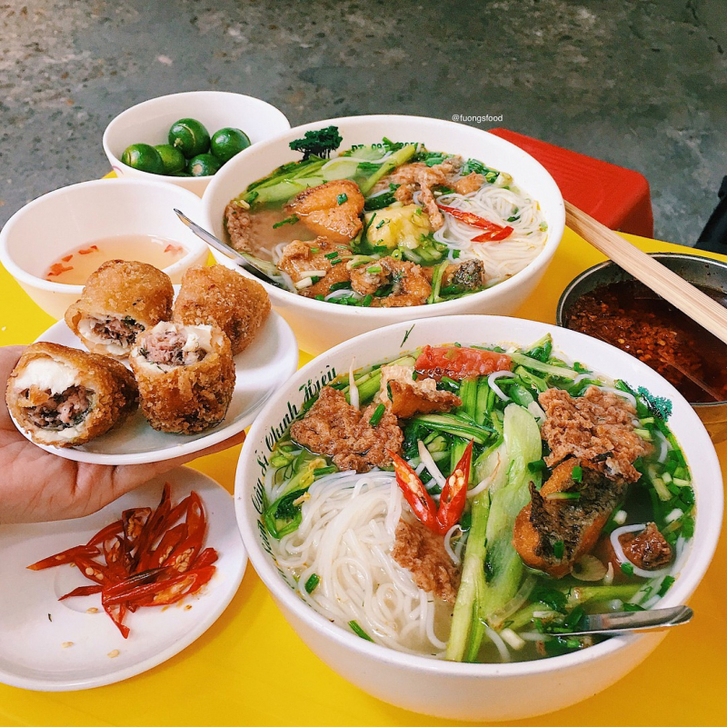 Top 5 Địa chỉ ăn ngon tại ngõ Trung Yên, phường Hoàn Kiếm, Hà Nội