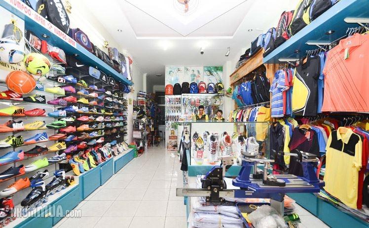 Top 12 cửa hàng bán dụng cụ thể thao uy tín nhất ở Hà Nội