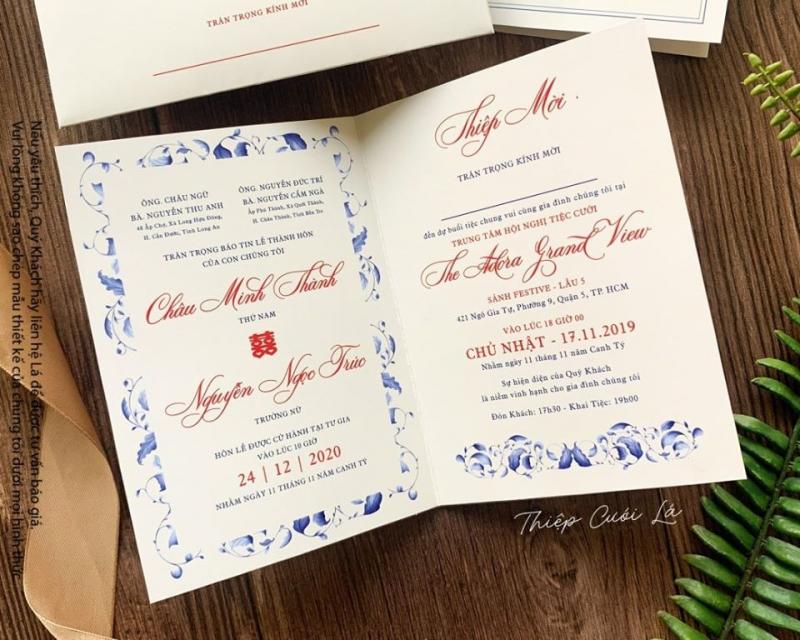 Top 7 Địa chỉ in thiệp cưới đẹp và uy tín nhất quận 10, TP. HCM