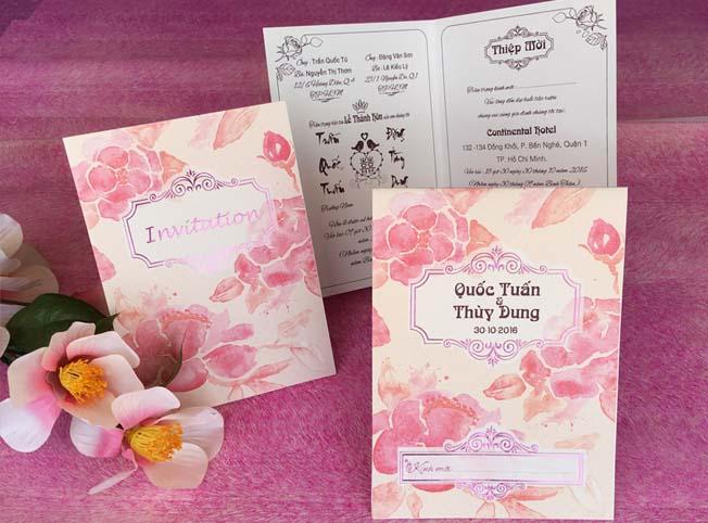 Top 8 Địa chỉ in thiệp cưới đẹp và uy tín nhất quận Gò Vấp, TP. HCM