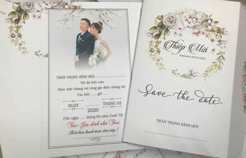 Top 5 Địa chỉ in thiệp cưới đẹp và uy tín nhất Thái Bình
