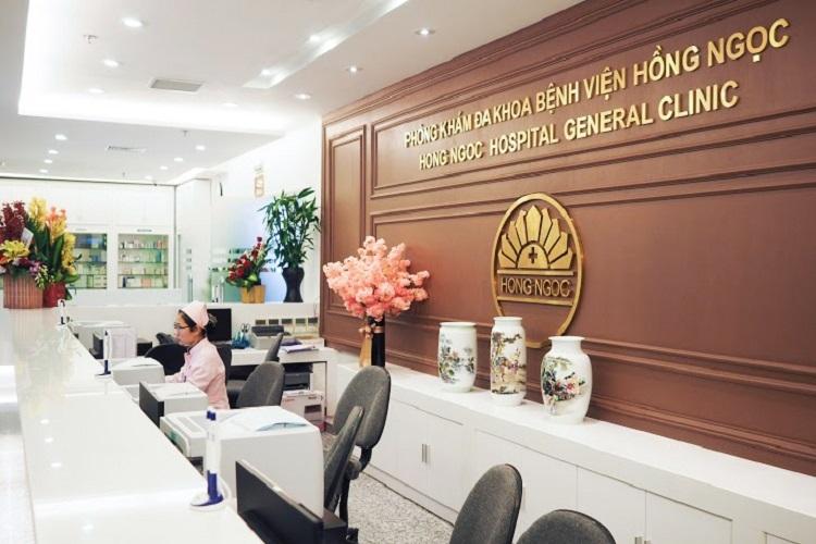 Bệnh viện đa khoa Hồng Ngọc nổi tiếng với cơ sở vật chất và chất lượng phục vụ tốt