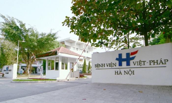 Bệnh viên Việt Pháp Hà Nội hiện đại