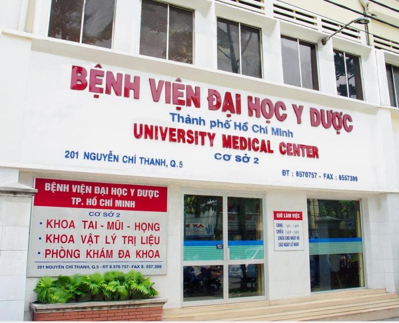 Phòng khám tai mũi họng - Bệnh viện Đại học Y dược thành phố Hồ Chí Minh - Cơ sở 1