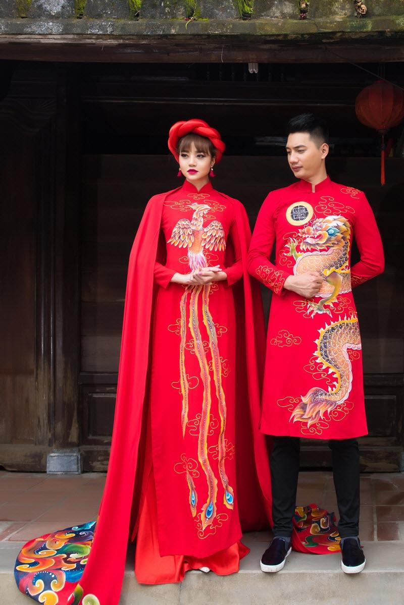 Top 6 địa chỉ mua áo dài cưới đẹp nhất Hà Nội