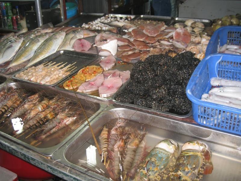 Một số mặt hàng của Gành Cá