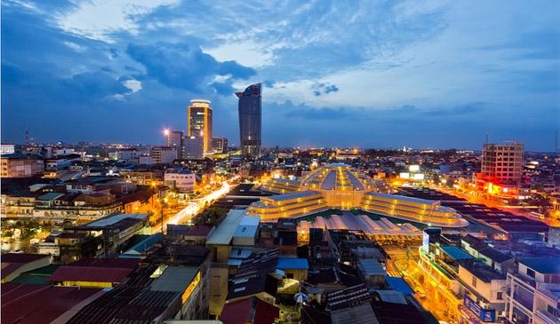 Top 10 địa chỉ mua sắm và chợ nổi tiếng nhất  Phnom Penh - Campuchia