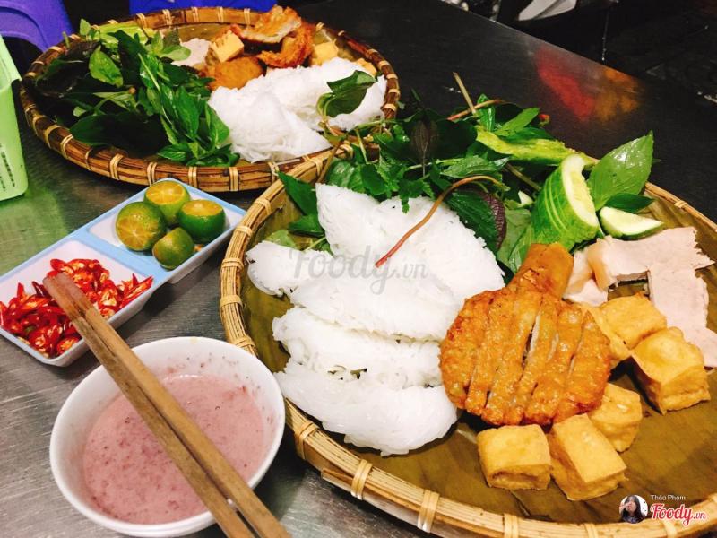 Top 5 Địa chỉ thưởng thức món bún đậu mắm tôm ngon nhất tại Quy Nhơn, Bình Định