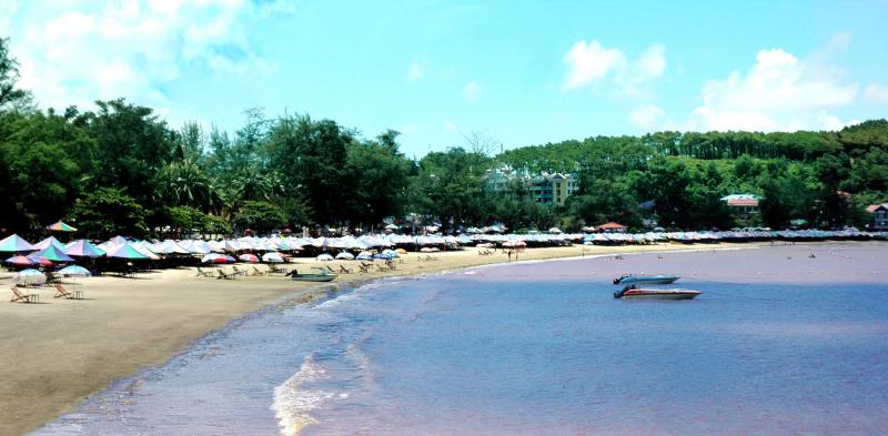 Một phần của bãi biển Đồ Sơn