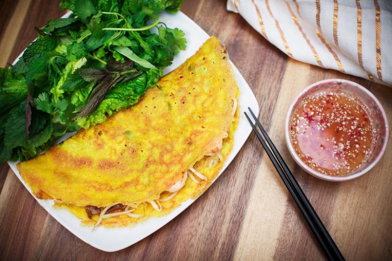 Top 10 địa điểm ăn bánh xèo ngon nhất Hà Nội