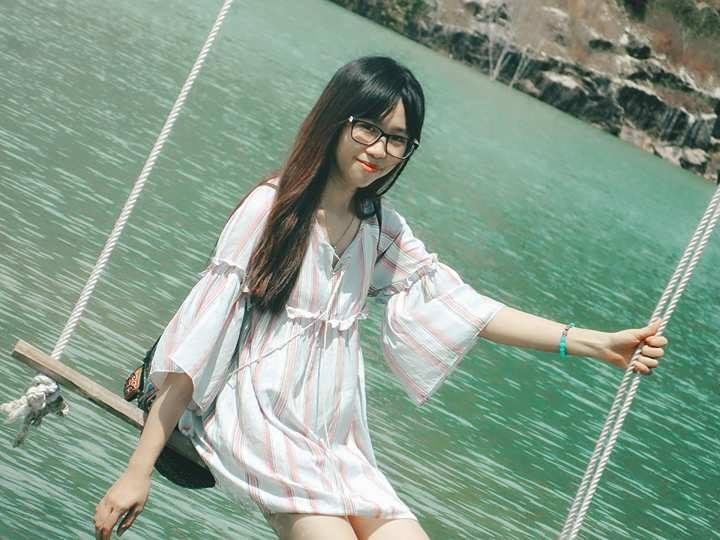 Hồ Đá Xanh thơ mộng (Facebook: Thanh Thảo)