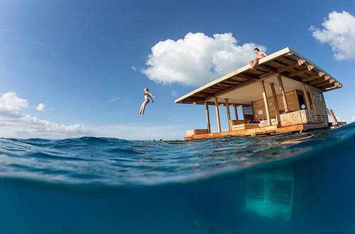 Khách sạn dưới nước Zanzibar