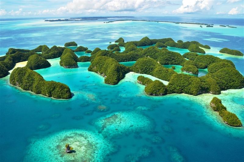 Nơi có những bức tường xanh, Palau