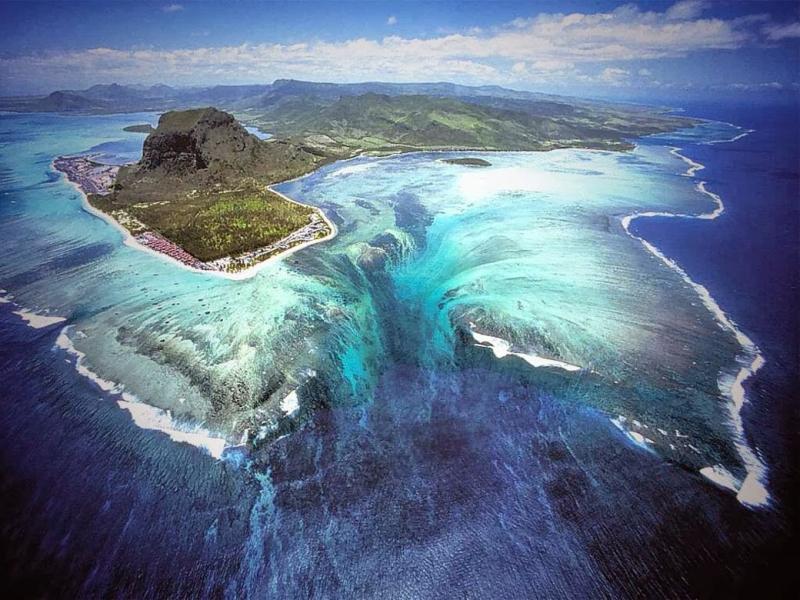 Thác dưới nước, Mauritius