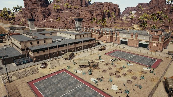 Khu nhà tù - Prison trong map sa mạc