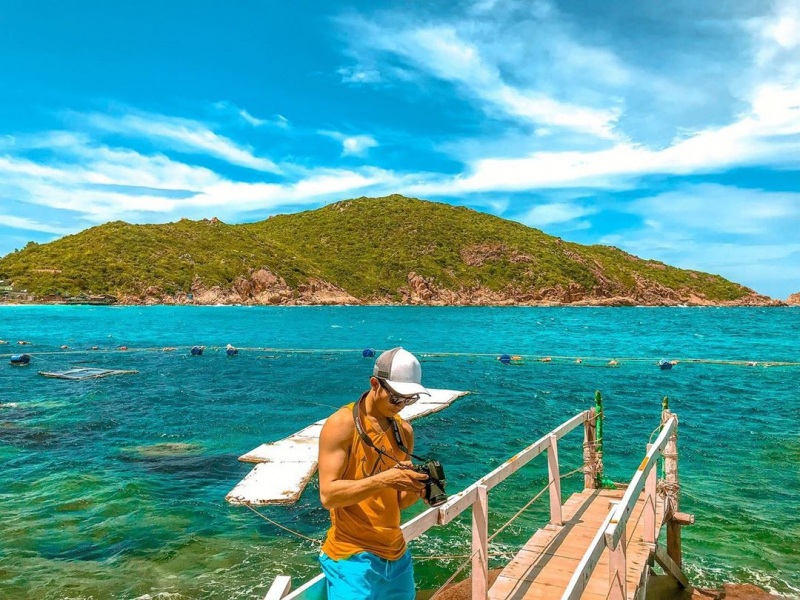 Địa điểm tham quan nổi tiếng trên đảo Bình Ba