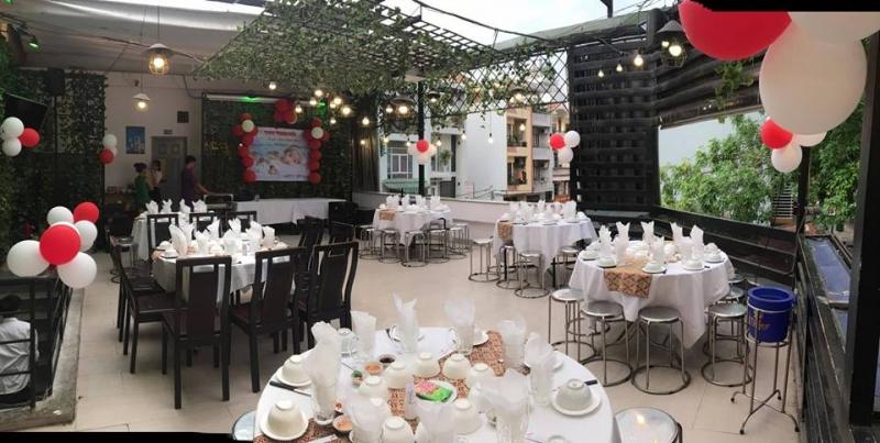 Nhà hàng Cây Dù là một trong những địa điểm tổ chức sinh nhật cho bé chất lượng