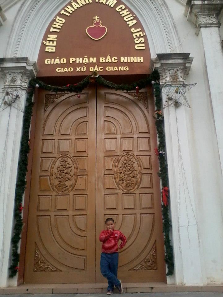 Nhà Thờ Giáo Xứ Bắc Giang ( Ảnh Xuân Công Nguyễn)