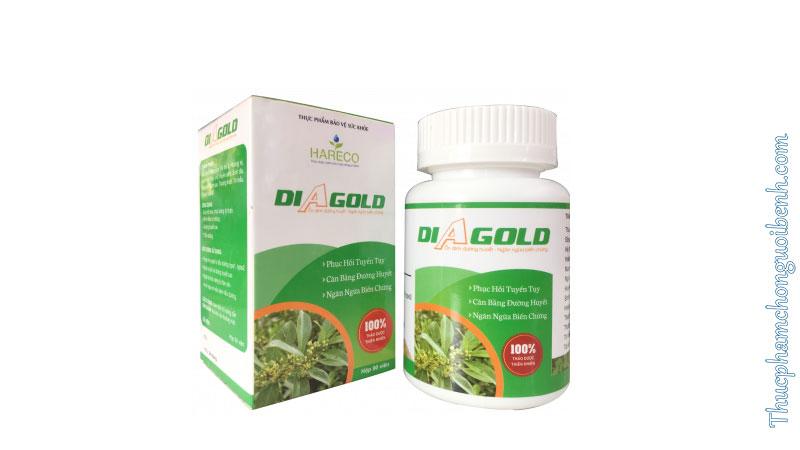 Viên tiểu đường DiAgold