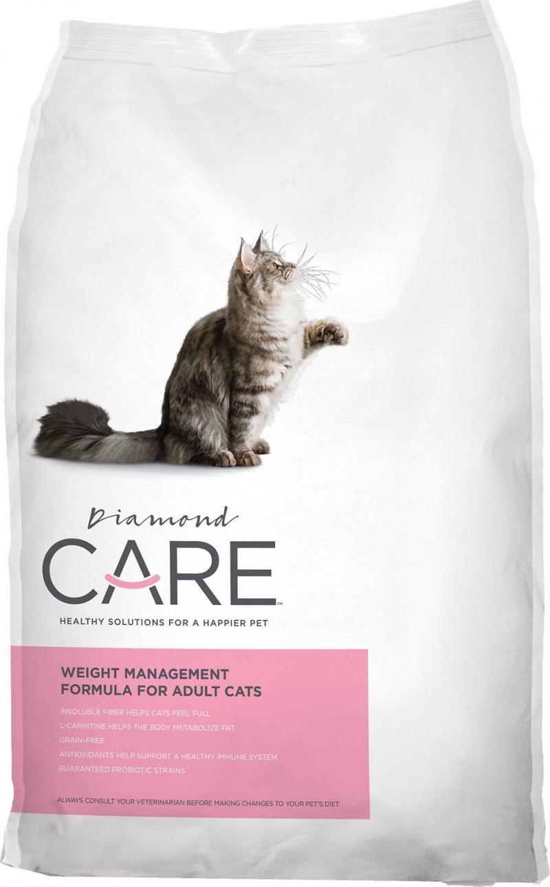 Thức ăn mèo Diamond Care Weight Management Adult