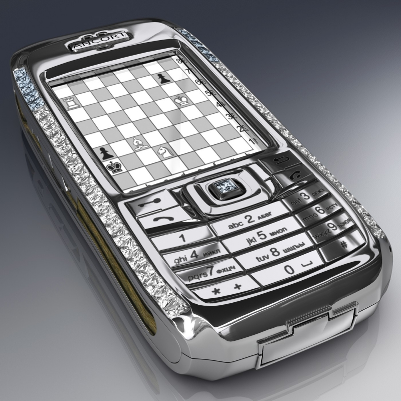 Diamond Crypto Smartphone trị giá 1.300.000 USD