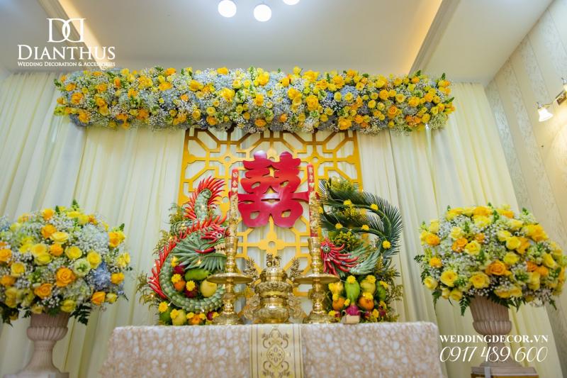 Top 7 dịch vụ trang trí đám cưới hỏi giá rẻ tại TPHCM