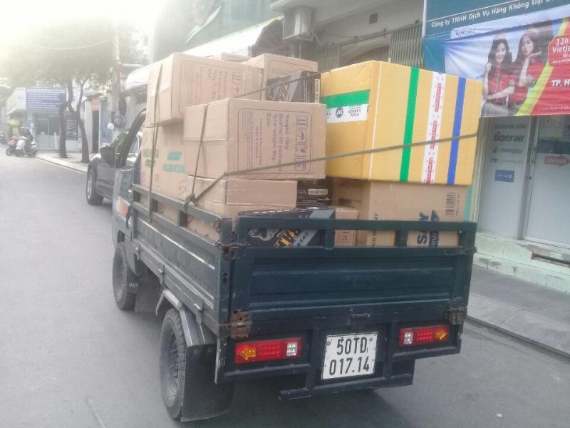Thành Hưng còn có xe tải hỗ trợ việc vận chuyển khối lượng lớn