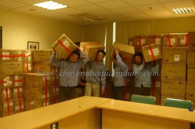 Dịch vụ bốc xếp hàng hóa Quang Dũng