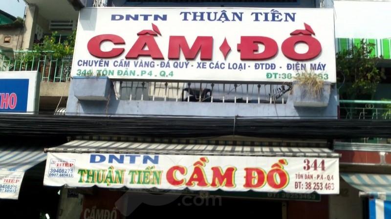 Dịch vụ cầm đồ của Công ty Thuận Tiến