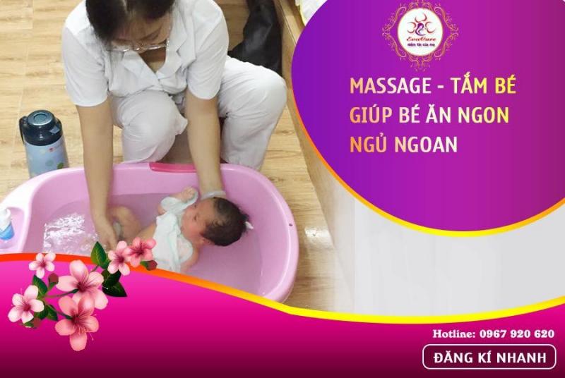 Dịch vụ chăm sóc mẹ bé Eva Care