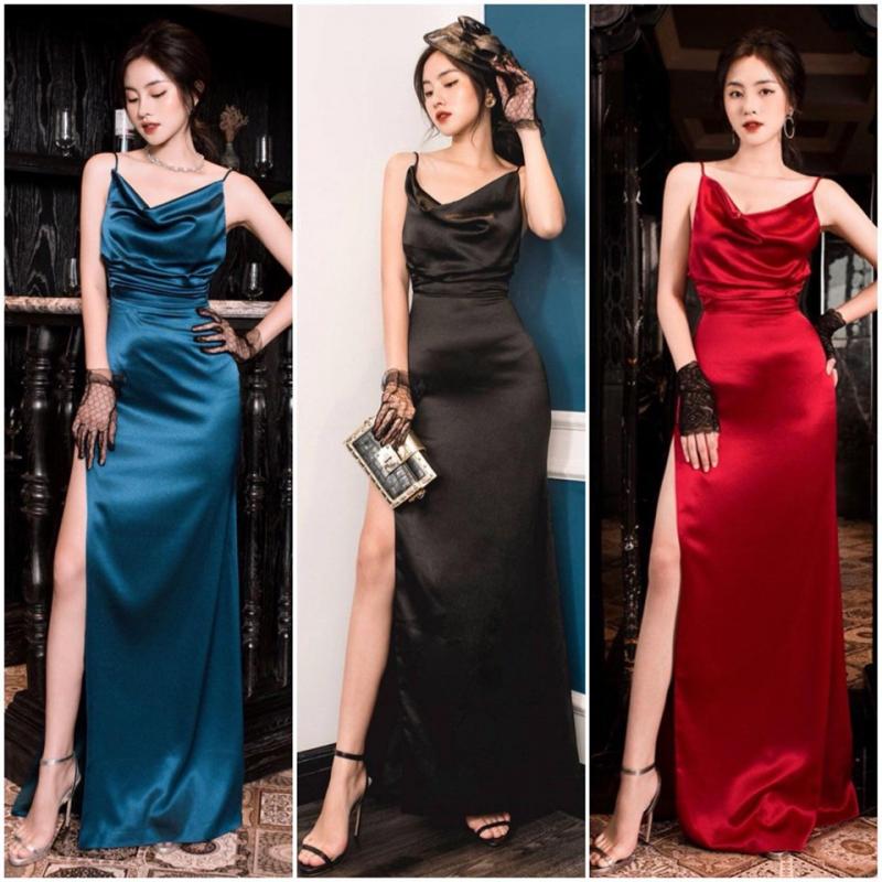 Mẫu váy khá hiện đại và tôn dáng