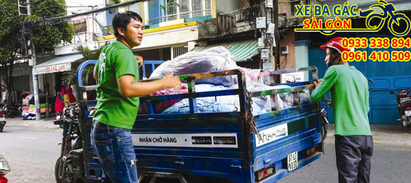 xe ba gác chở thuê Bình Tân