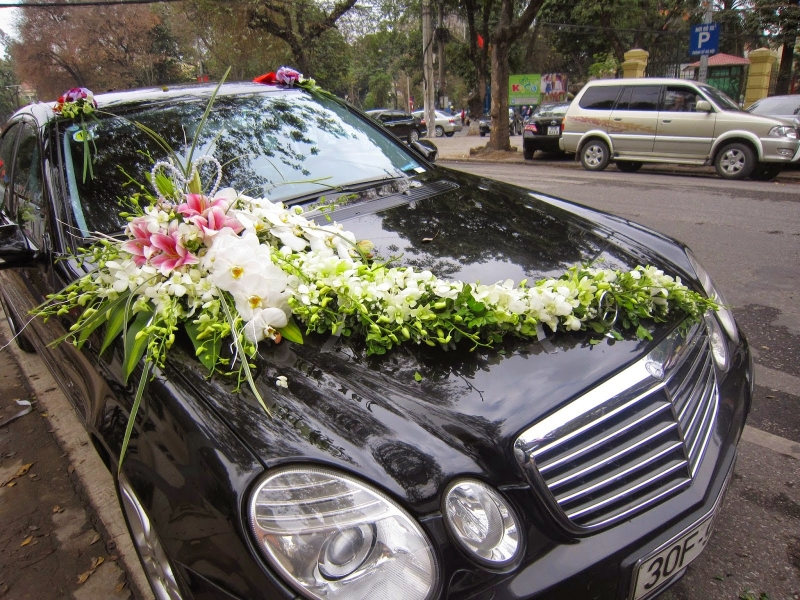 Dịch vụ cho thuê xe cưới Thành Nhân